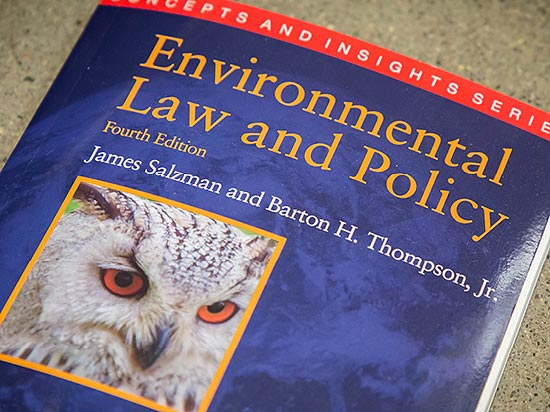 Environmental Law and Policy book