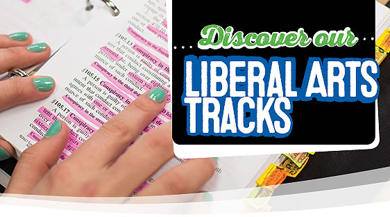 Discover Our Liberal Arts Tracks