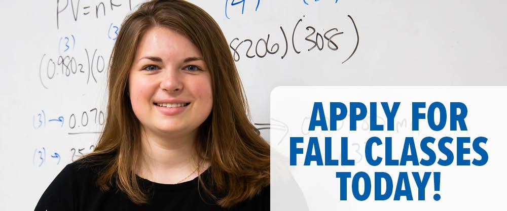 Apply for Fall Classes Today!