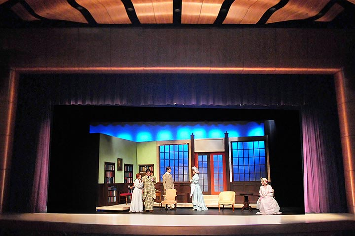 """The Importance of Being Earnest"" 2013 Main Stage Play, and the first show in FLCC's state-of-the-art Auditorium"