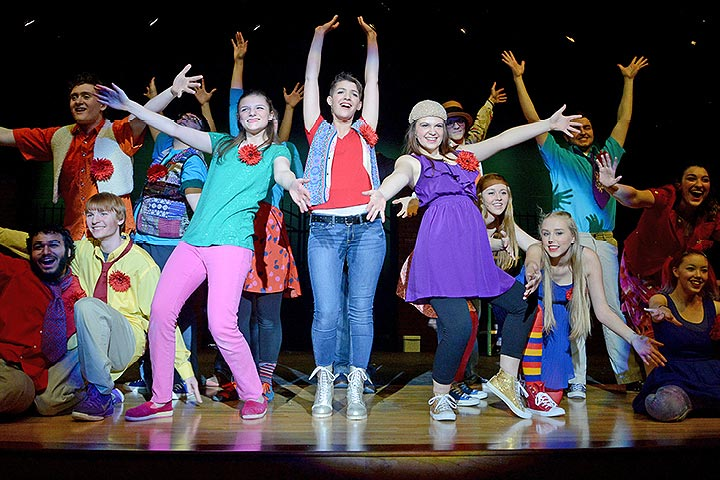 """Godspell"" 2016 Main Stage Play"