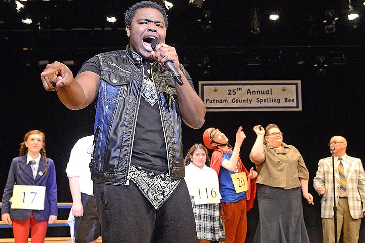 """The 25th Annual Putnam County Spelling Bee"" 2014 Musical - FLCC's first in 30 years!"