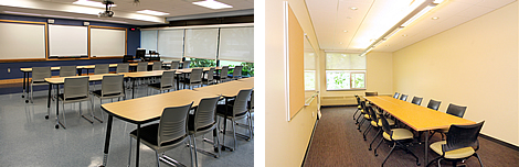 Classrooms and Meeting Rooms